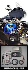J&M ROKKER XT-P 500 WATT 4-CH AMPLIFIER KIT FOR 11-13 HARLEY ROAD GLIDE  ULTRA