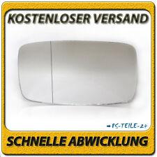spiegelglas für PORSCHE 924 76-88 links asphärisch fahrerseite außenspiegel