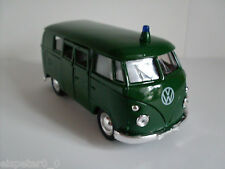 VW T1 Bus Polizei, Welly Auto Modell ca.1:38, Neu, OVP