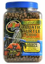 Zoo Med Natural Aquatic Turtle Food Growth Formula 7.5 oz best prices on ebay