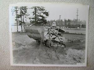 "1960 IH International TD-20 tractor  stock PHOTO 10x8"""