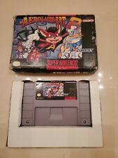Aero the Acro-Bat 2 SNES Super Nintendo Cartridge And BOX NO MANUAL ACROBAT USA