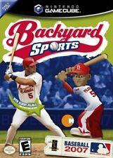 Backyard Baseball 2007 Nintendo Gamecube Complete