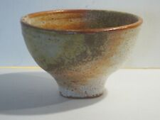 Warren Mackenzie Large Shino & Wood Ash Glaze Bowl From Pvt. Coll., Marked