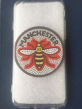 IPhone 5/5s/SE Gel Phone Case with red mosaic Manchester Worker Bee design