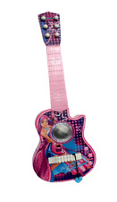 Girls pink Guitar Toys Sound 55 cm different functions 6 metal strings NEW