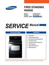 Samsung FE-R300SB Electric Range Service Manual Repair Guide