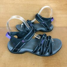 Teva Tirra Sport Sandal Womens Size 5 Black Gray Outdoor Hiking Comfort Strap