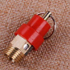 "1/4"" NPT 120PSI Pressure Safety Relief Blow Pop Off Valve For Air Compressor NEW"