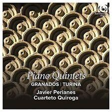 GRANADOS, TURINA: PIANO QUINTETS NEW CD