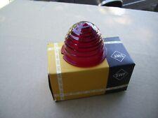 Porsche 356 Tail Light Lens SWF K11442 NOS Red Lens Hard To Find Red Lens K11442