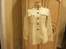 Ralph Lauren Denim & Supply Women Military Army Officer Band Coat Jacket~NWT XS
