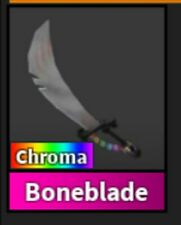 Roblox Murder Mystery 2 MM2 Chroma Boneblade Godly Knife (READ DESCRIPTION!)
