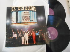 LP POP Maze-Live in New Orleans 2lp (12) canzone Capitol Rec/France