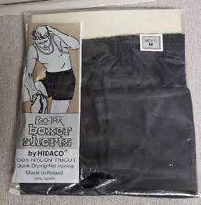 Vintage Hidaco Nylon Tricot Boxer Shorts underwear Sz M Made in Poland NOS