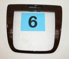 06-11 Chevy Impala Walnut Burl Center Dash Radio HVAC Trim Panel  NICE  #6