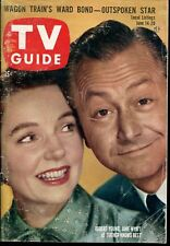 TV GUIDE MAGAZINE ~ NO. 272 ~ JUNE 14-20, 1958 ~ ROBERT YOUNG, JANE WYATT