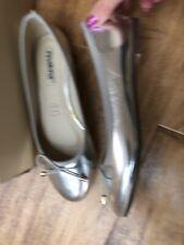 cuir synthétique Taille 36-38 RAXMAX Ballerine//Escarpins avec talon compense dans kaki