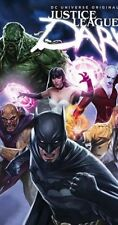 JUSTICE LEAGUE      DARK  (DVD) DC UNIVERSE ORIGINAL MOVIE