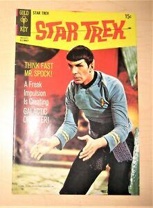 Star Trek #6 TV Silver age comic Gold Key bEAUTIFUL Nimoy  Photo  cv