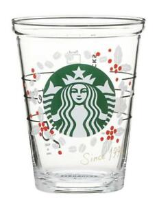 Starbucks Japan Limited 25th Anniversary Goods Collectable cold cup glass cherry