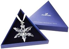 Swarovski 2015 annual snowflake ornament brand new in box with certificate !