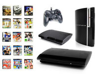 Playstation 3 Konsole 12 - 500 GB FAT, SLIM oder SUPERSLIM PS3 - EINFACH WÄHLEN!