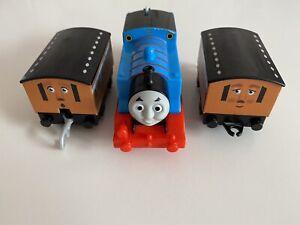 Thomas & Friends TRACKMASTER Train Motorised Engine THOMAS, ANNIE & CLARABEL