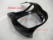 Front Nose Cowl Upper Fairing For Kawasaki Ninja ZX12R 2000-2001 ZX-12R Black
