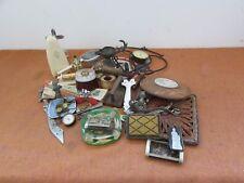 joli lot d objets de vitrines brocantes bijoux boites a tabac coupe papier
