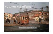 Brooklyn Dodgers- Trolley Car -Ebbets Field