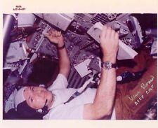 "Nasa Astronaut Vance Brand hand signed 8""x10"" Astp In Flight Photo"