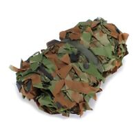 2m x 1.5m Shooting Hide Army Camouflage Net Hunting Oxford Fabric Camo Nett D9Q2
