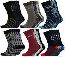 New Crosshatch 5 pack socks Designer Socks Colourful Summer Size 6-12 Mens gift