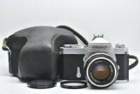 [EXC+++++ IN CASE] NIKON NIKOMAT FTN w/ NIKKOR-S 50mm f/1.4 from Japan #1138