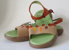 New CAMPER Girls Leather Sandals Sz 26 / 9.5 US