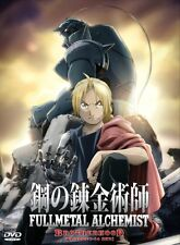 DVD ANIME FULLMETAL ALCHEMIST BROTHERHOOD Episode 1-64End Region All