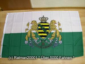 Fahne Flagge Königreich Sachsen - 90 x 150 cm