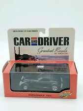 Road Champs Car and Driver Greatest Roads 1998 Plymouth Prowler 1:43 Hwy 101 New