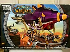 Mega Bloks 91014 World of Warcraft Goblin Zeppelin 310 pcs - New Sealed