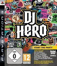 Jeu pour Playstation 3 PS3   DJ Hero  Neuf  Sous Blister