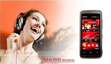 "Nokia 5530 mobile phone unlocked cell phone 2.9"" Touchscreen 3.2mp bluetooth"