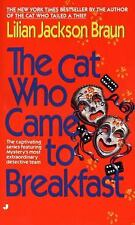 BUY 2 GET 1 The Cat Who Came to Breakfast 16 by Lilian Jackson Braun (1995,...