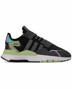 Adidas Originals Nite Jogger Men's Boost Running Shoes Reflective FV3871 Black
