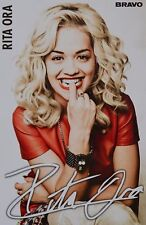 Rita Ora-Autograph-Signed Autograph Autograph Fan Collection Clippings