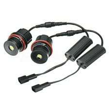 2pcs 80W Error Free Angel Eyes LED Halo Ring Light Bulbs For BMW E39 E53 E60 E63