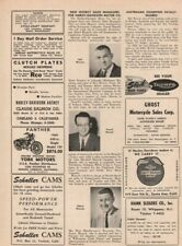 1960 Harley-Davidson - New District Sales Managers - Vintage Motorcycle Article