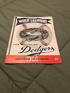 1960 Los Angeles Dodgers Yearbook