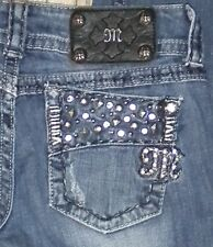TAG SZ 25 WOMENS Buckle MISS ME # JE4897B6R Boot JEANS Actual 27X30