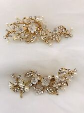 Fashion Jewelry Headband #7847 Silver Clear Headpiece Jewelry & Watches